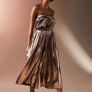 Urban Outfitters Hollywood Metallic Jumpsuit